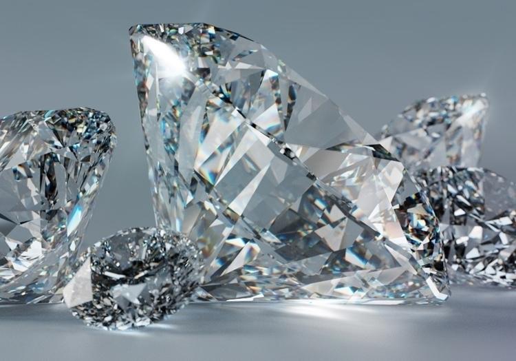Diamante 2 - CGI - diamond, iray - edivan-5333 | ello
