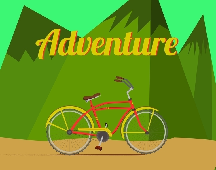 Bicycle Adventure Summer - vector - miles-4949 | ello