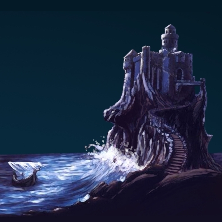 Closeup castle poster RiffTrax  - jasonmartin-1263 | ello