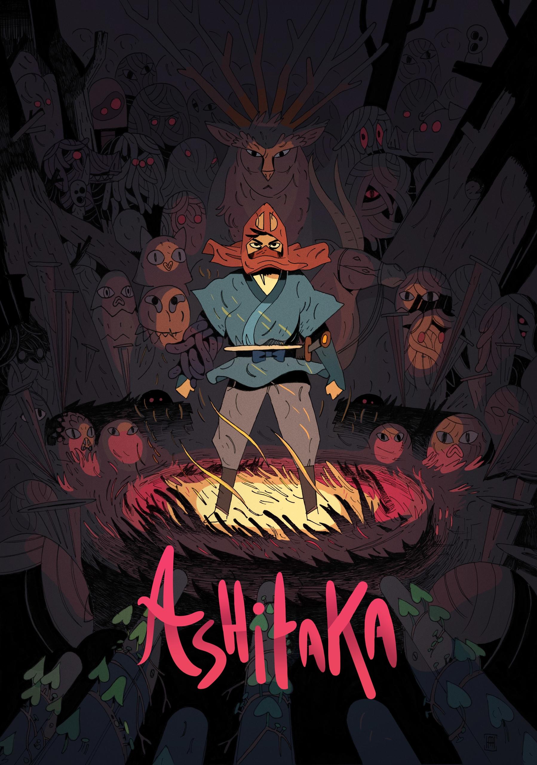 Hommage Ghibli poster - illustration - maxencehenry | ello