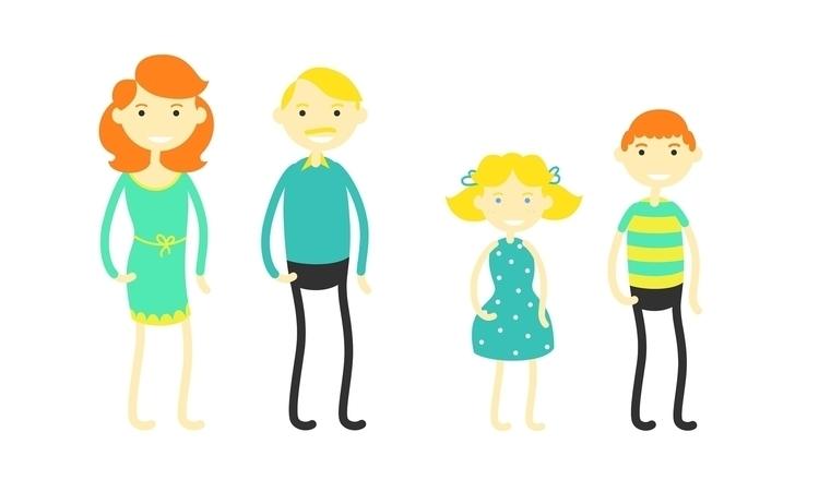 Characters design Presstalis - illustration - colorado-1597 | ello