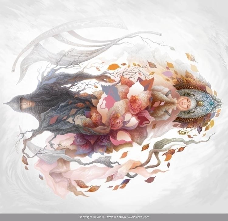 illustration Farewell Kingdom,  - kseniyalvova | ello
