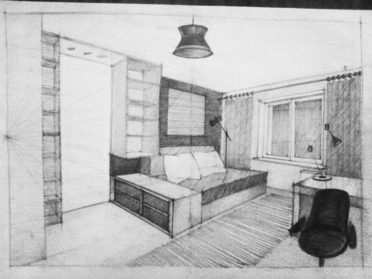 architecture, sketch, interiordesign - pangeniy   ello