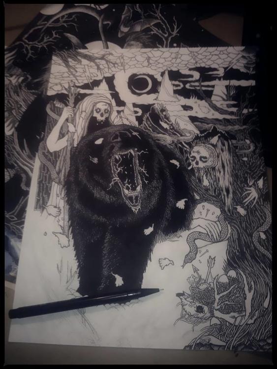work progress - bear, shapefromhell - shapefromhell | ello