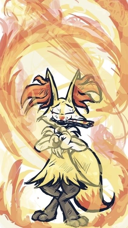 (SNPoké) Braixen: Kagero Mai: p - bunnybird-1423 | ello