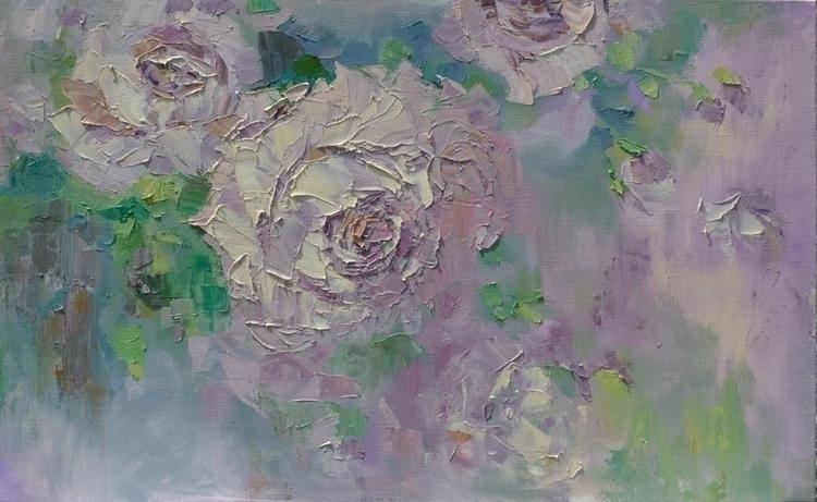 Fantasies Roses. 80x130. Oil ca - tanya_vasilenko | ello