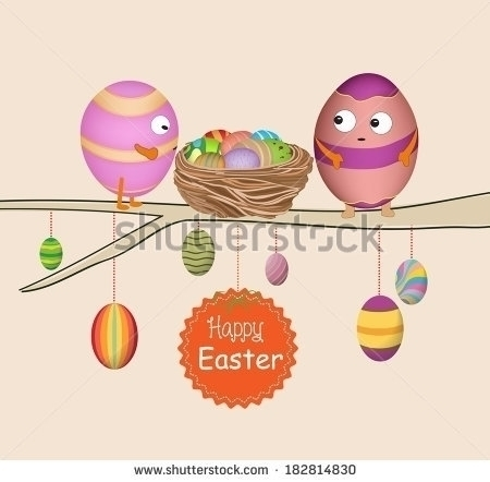 Greeting card happy Easter, Eas - ngocdai86   ello