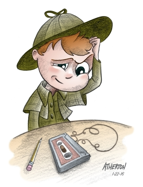 Young Sherlock - illustration, children'sbook - jimatherton | ello