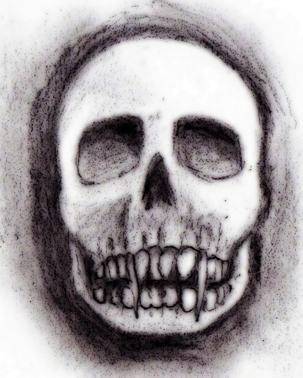 Vampire skull - #critter - cheechwiz | ello
