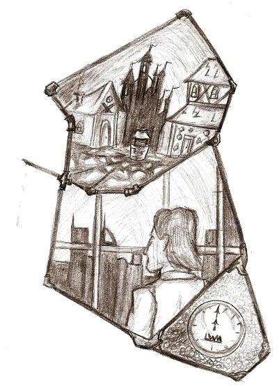 illustration, pencil, storytelling - lewm | ello