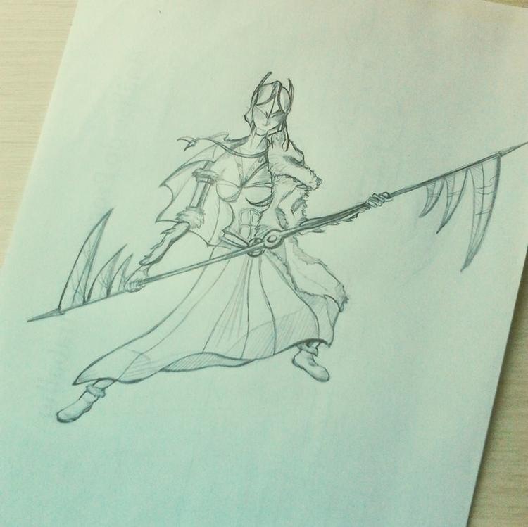 illustration, characterdesign - lewm | ello