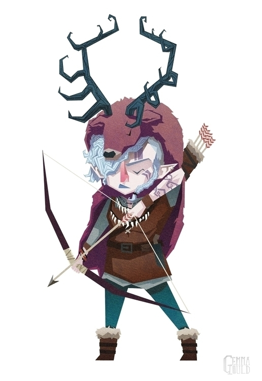 Norse goddess Skadi - skadi, norse - gemmagould | ello