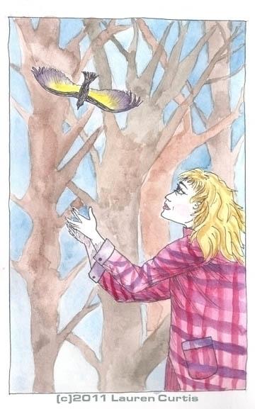 Illustration pen ink watercolor - laurencurtis | ello