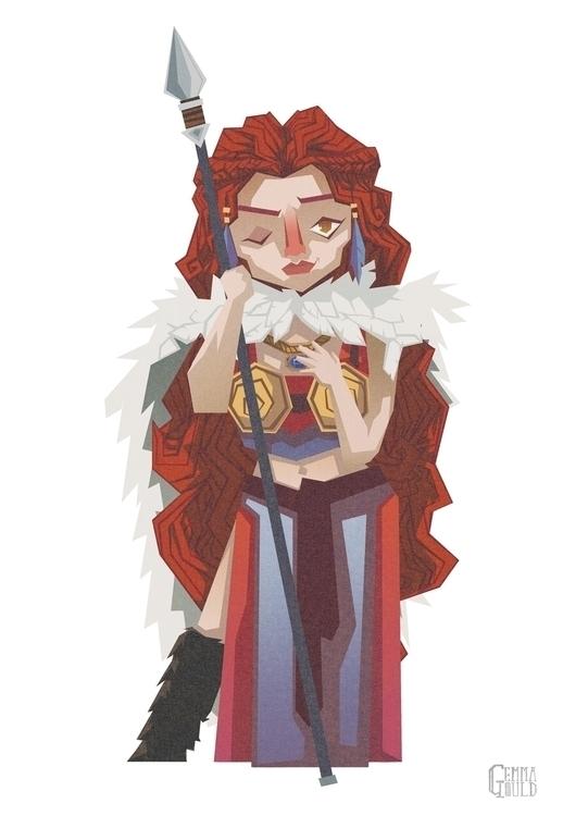 Norse goddess Freya - freya, norse - gemmagould | ello