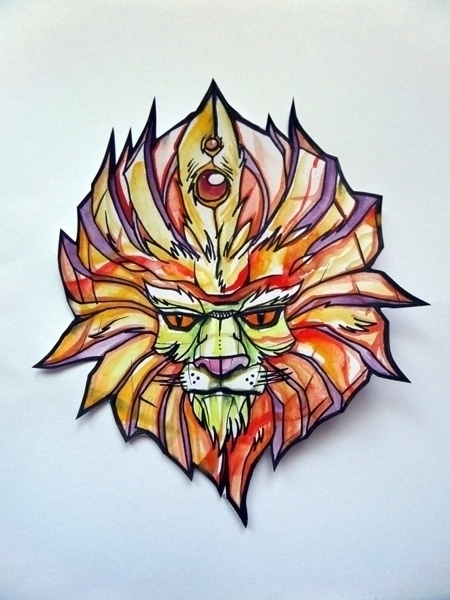 pen, watercolor - illustration, characterdesign - syrnique | ello