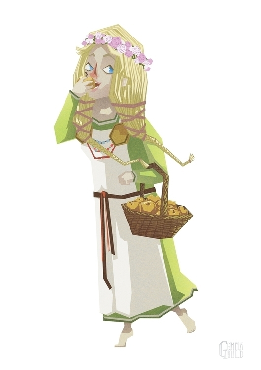 Norse goddess Idunn - Idunna, norse - gemmagould | ello