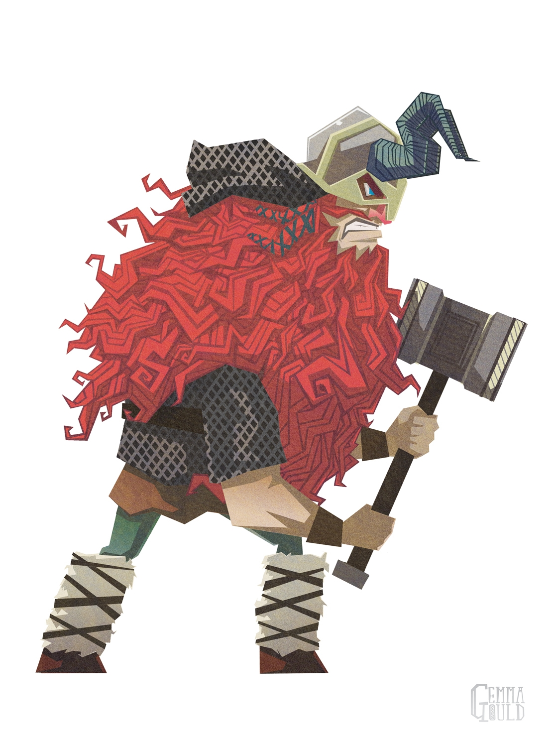 Norse god Thor - thor, norse, norsemythology - gemmagould | ello