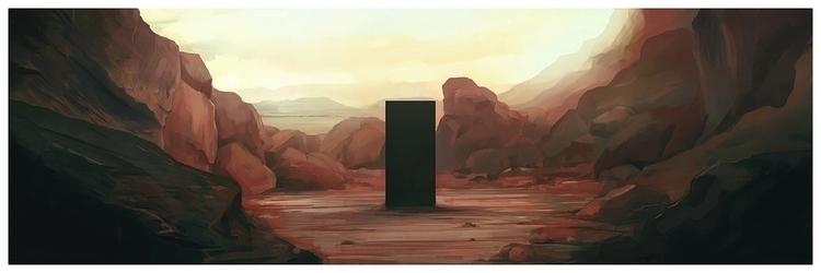 total mystery 2001: Space Odyss - jordan_buckner | ello