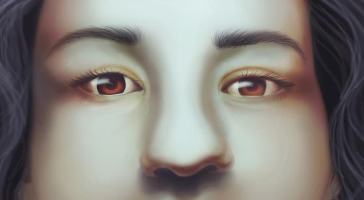 illustration, digitalart, portrait - cervidae-1054 | ello