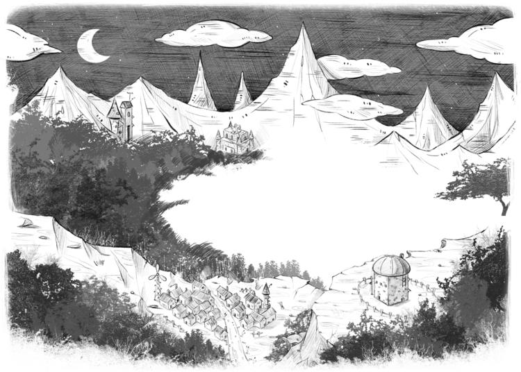 illustration - page, sciencefiction - bingtai   ello