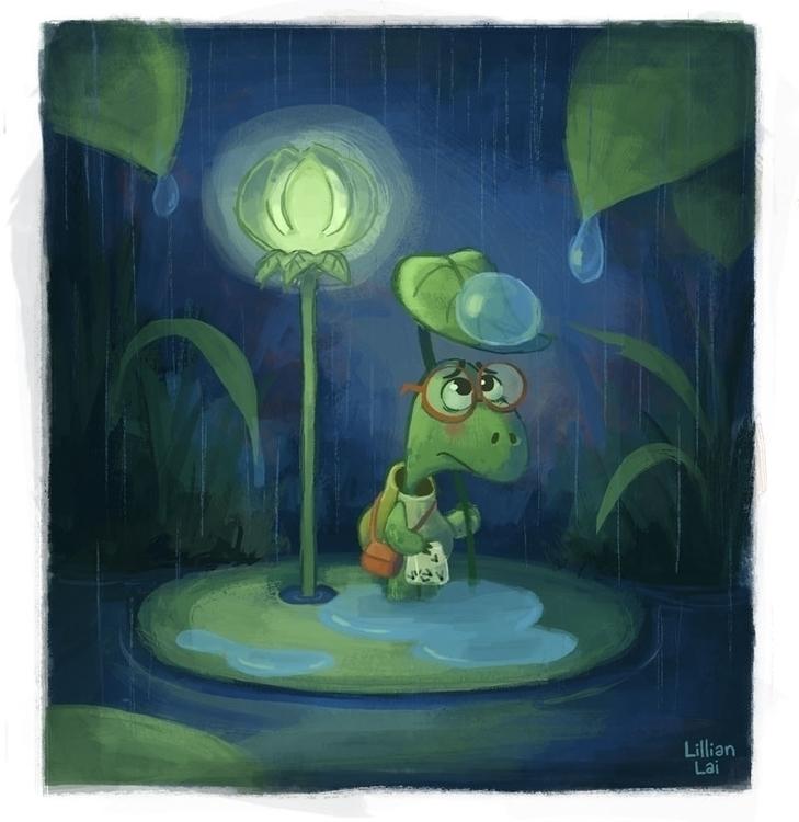 Wishing rainy days - lillisketch | ello