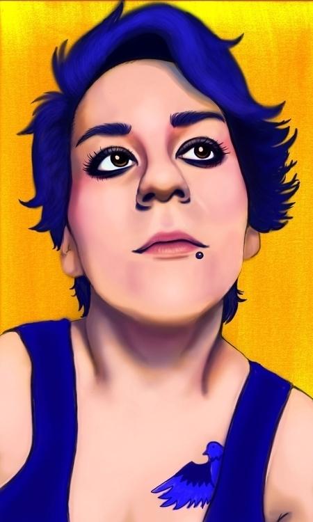 portrait, July 2016 - illustration - cervidae-1054 | ello