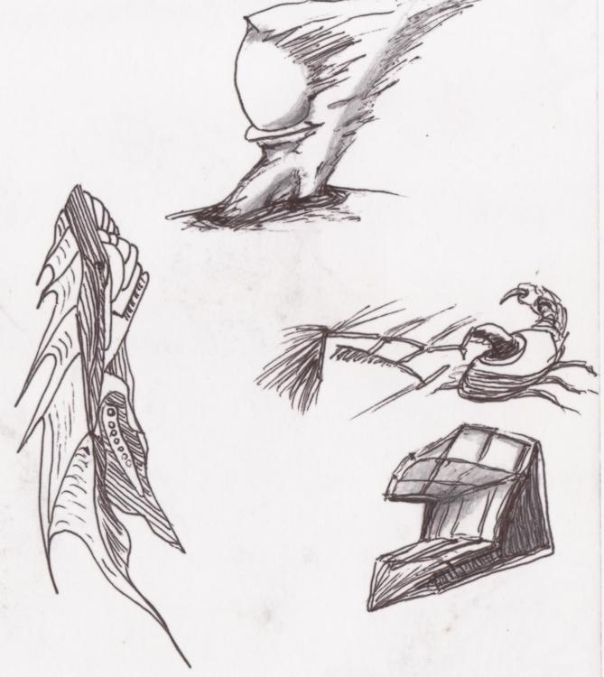 Randoms - illustration, conceptart - cheechwiz | ello