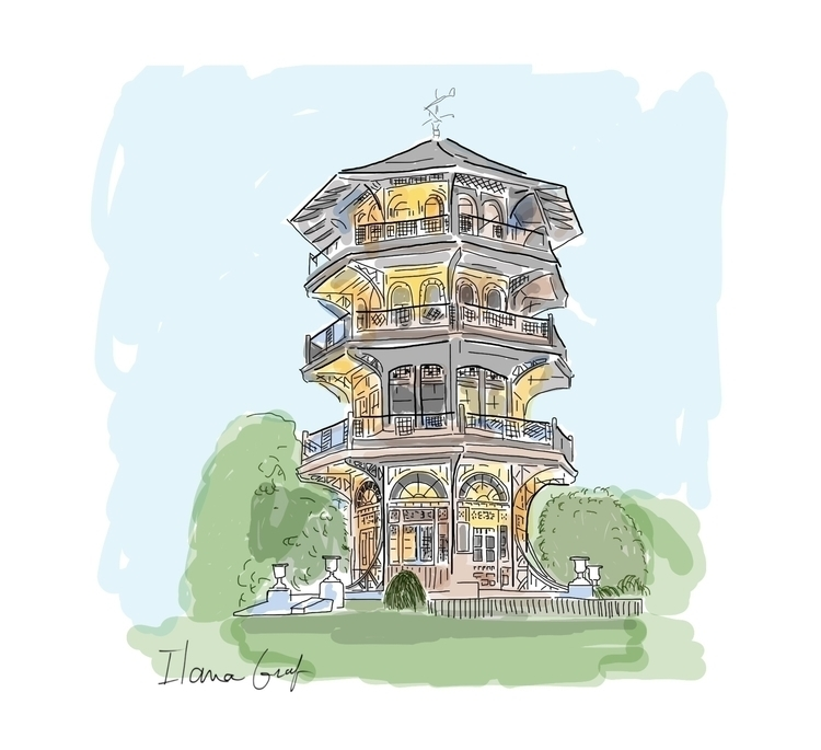 Pagoda - garden, pagoda, building - ilanagraf | ello