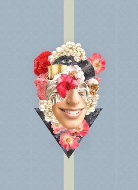 Doncella - #collage, #design, #doncella - alexiacas | ello