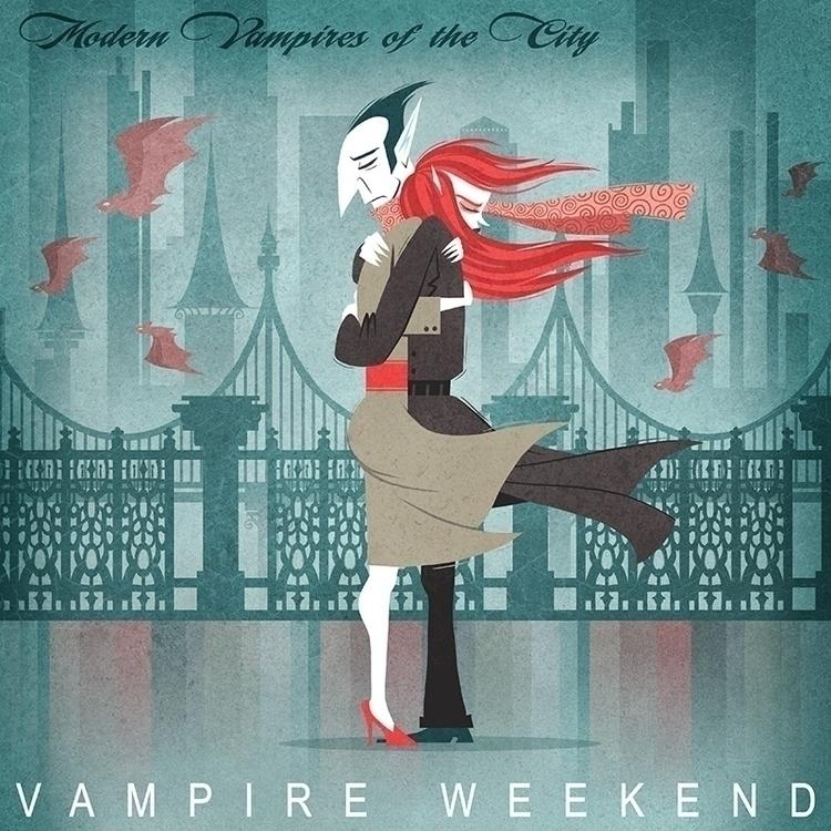 Modern Vampires City - vampire, albumcover - davepryor | ello