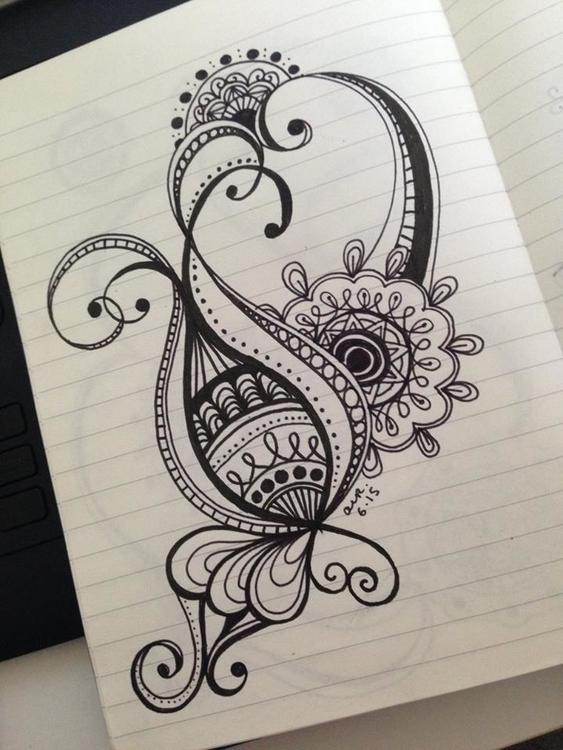 doodle, zentangle - ashleyr-6440 | ello