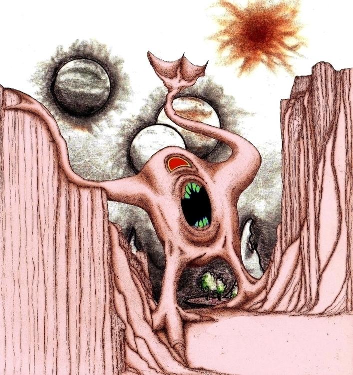 Yell - #critter, illustration, characterdesign - cheechwiz   ello