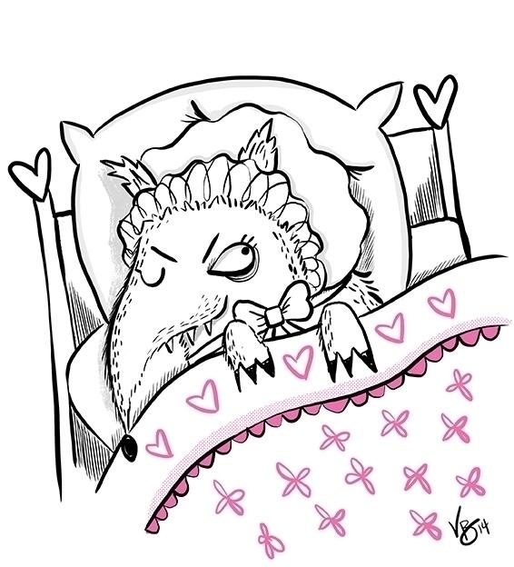 bigbadwolf, cintiq, personal - vickydoodles-4070 | ello