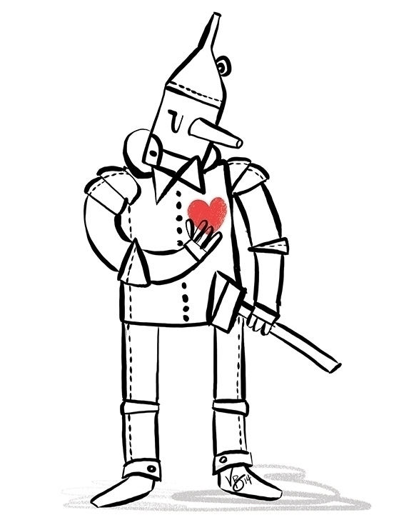 tinman, cintiq, personal - vickydoodles-4070 | ello