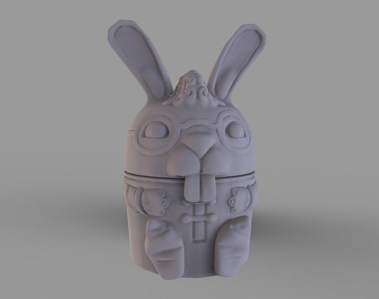 Kids Lip Balm Container - characterdesign - baratha | ello