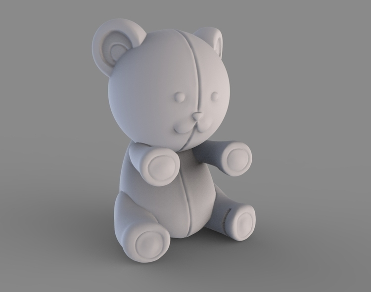 Silicone teething toys - 3d, design - baratha | ello