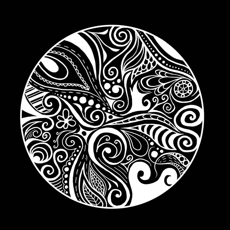 circle, digitalart, zendoodle - ashleyr-6440 | ello