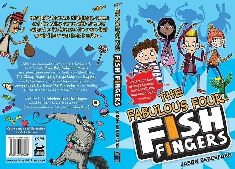 Fabulous Fish Fingers. Written  - vickydoodles-4070 | ello