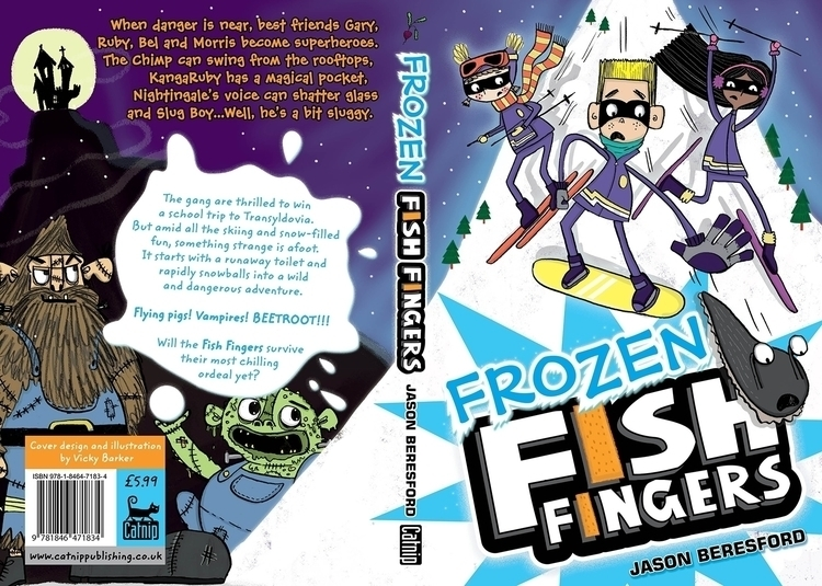 Frozen Fish Fingers. Book Finge - vickydoodles-4070 | ello
