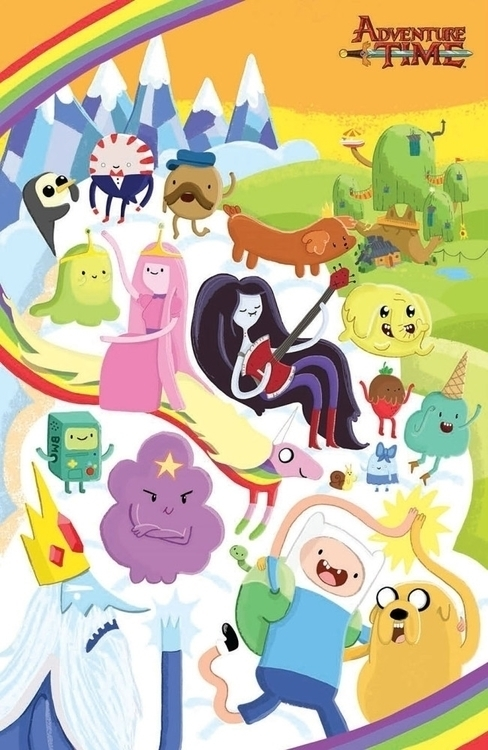 Cover artwork Adventure Time co - vickydoodles-4070 | ello