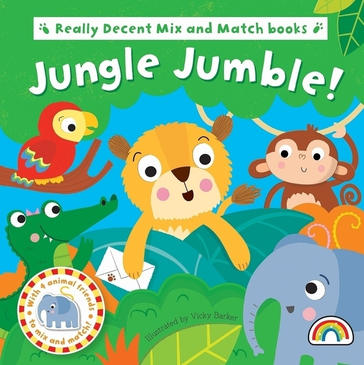 Baby board book series - Jungle - vickydoodles-4070 | ello