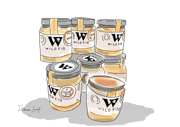 Jam cans - illustration - ilanagraf | ello