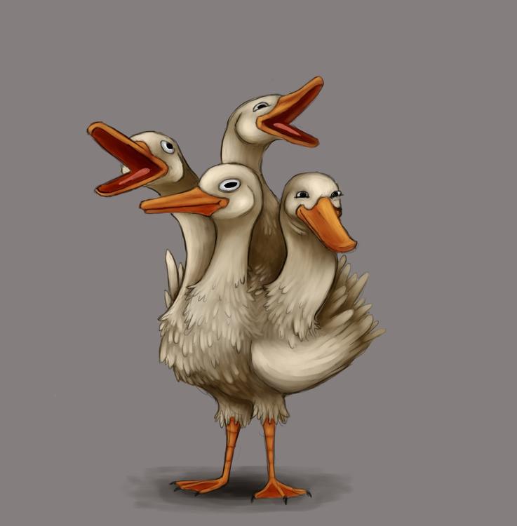 Cut head, takes place - duck, animals - alexjohnston | ello