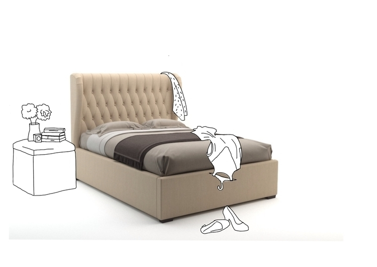 Badroom - clothes, Room, illustration - ilanagraf | ello