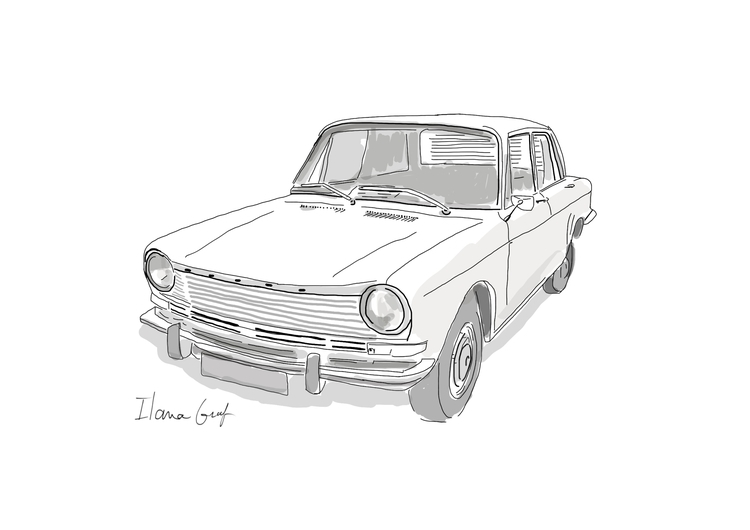 vintage car - Car, illustration - ilanagraf | ello