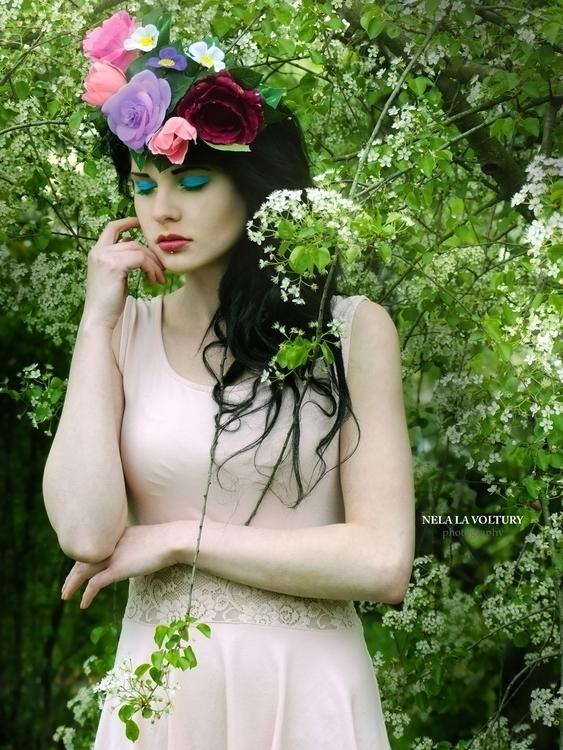 Model, Hair, MUA: Lussye Schönd - nelagriminelli_art | ello