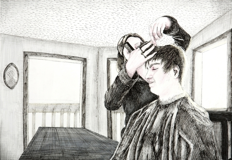 Haircut - 4 11 full series - drawing - ejaworenko | ello