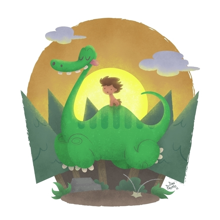 love Dinosaurs, loved Good Dino - danpazmio | ello