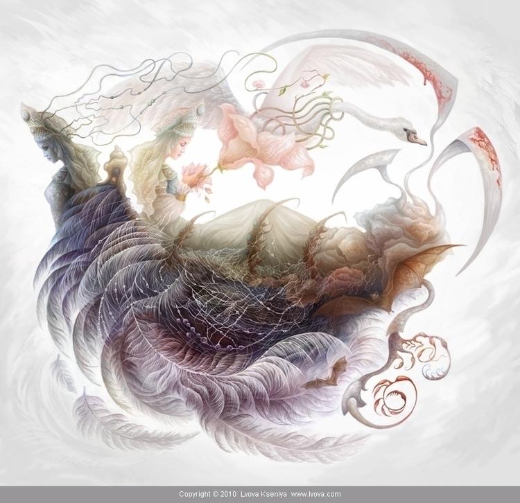 Dualism illustration Kingdom, t - kseniyalvova | ello