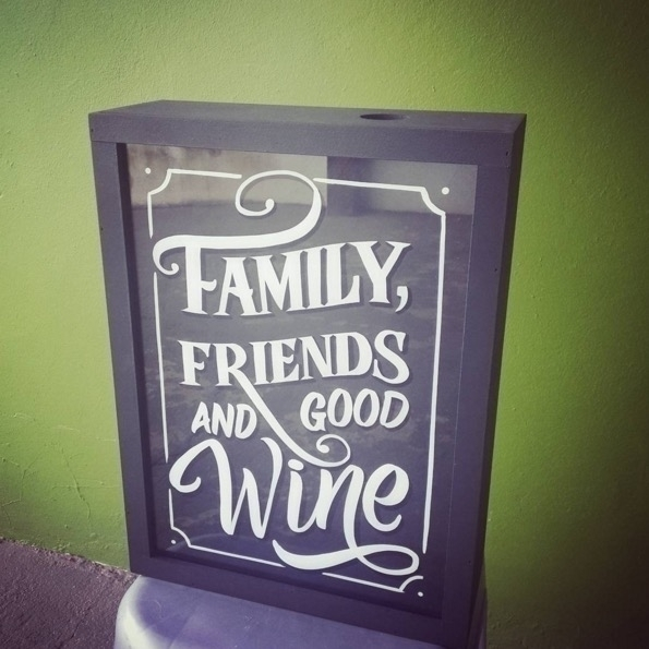 Wine cork box - wine, decoration - gibara   ello
